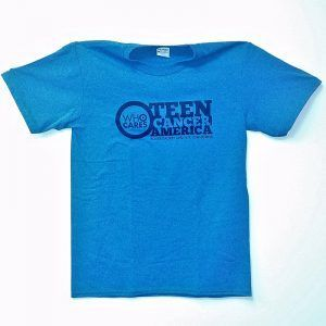 Teen Cancer America T-Shirt Blue
